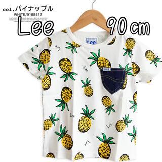 Lee - Lee ベビー パイナップル 総柄 Tシャツ 90