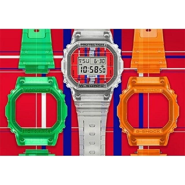 G-SHOCK(ジーショック)のG-SHOCK 佐藤可士和コラボモデル / DWE-5600KS-7JR メンズの時計(腕時計(デジタル))の商品写真