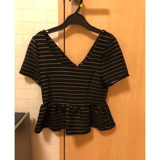 ロイヤルパーティー(ROYAL PARTY)のペプラムトップス(Tシャツ(半袖/袖なし))