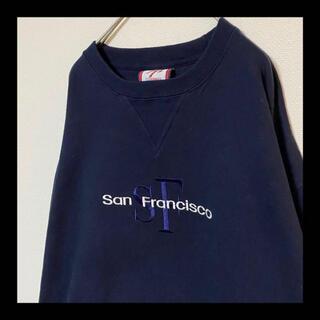 ヘインズ(Hanes)の90s San francisco / サンフランシスコ 刺繍 スウェット(スウェット)