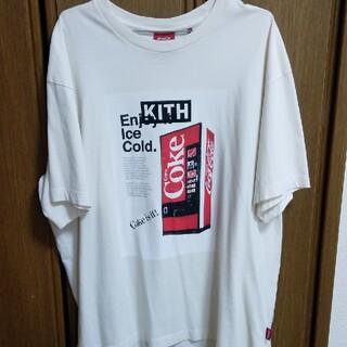 キース(KEITH)のkith Coca-Cola vintage tee Lサイズ(Tシャツ/カットソー(半袖/袖なし))