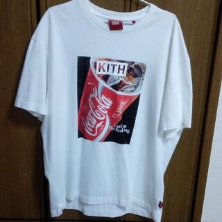 キース(KEITH)のkith Coca-Cola  tee mサイズ(Tシャツ/カットソー(半袖/袖なし))