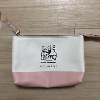 SNOOPY - 美品 スヌーピー ポーチ ウサギ ピンク マルチポーチ ピーナツ