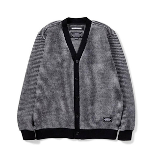 NEIGHBORHOOD - NEIGHBORHOOD STRIPE CUBE / W-CARDY . LS