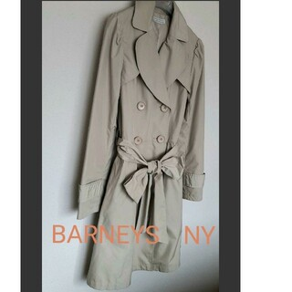 バーニーズニューヨーク(BARNEYS NEW YORK)のバーニーズニューヨーク ◆ ソフトトレンチコート(トレンチコート)