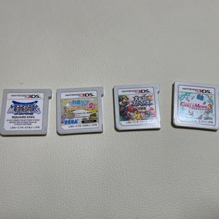 ニンテンドー3DS - 3DSソフトのみ 4点まとめ売り