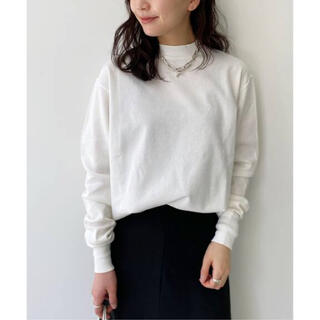 L'Appartement 【グッドグリーフ】Mock Neck L/S Tee