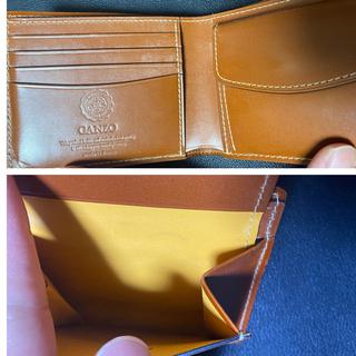 GANZO - ガンゾ BRIDLE CASUAL 小銭入れ付き二つ折り財布