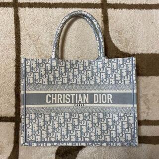 クリスチャンディオール(Christian Dior)のディオール ブックトート スモール グレー Dior BOOK TOTE(トートバッグ)