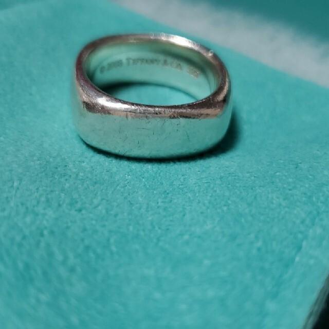 Tiffany & Co.(ティファニー)のティファニー スクエアリング 925 シルバー レディースのアクセサリー(リング(指輪))の商品写真