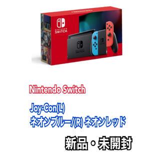 Nintendo Switch -  Switch 本体  Joy-Con(L) ネオンブルー/(R) ネオンレッド