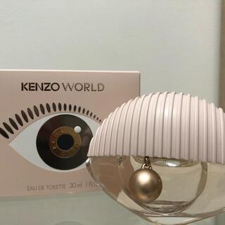 ケンゾー(KENZO)のKENZO ワールド オーデトワレ 30ml(香水(女性用))