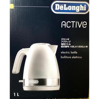 DeLonghi - DeLonghi デロンギ 電気ケトル KBLA1200J-W 一人暮らし 1L