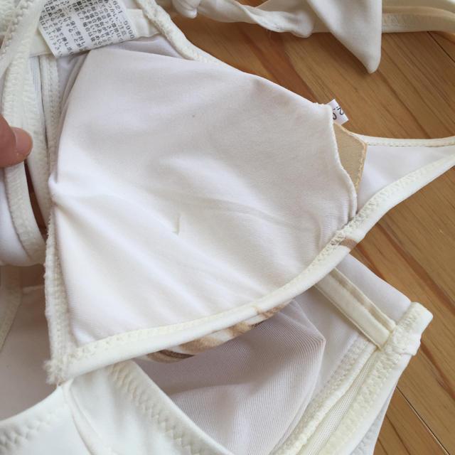 美品 3点ホワイト水着 レディースの水着/浴衣(水着)の商品写真