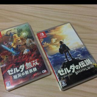 Nintendo Switch - switch ゼルダ 2点セット