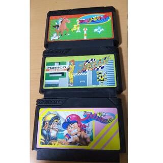 ファミリーコンピュータ - ファミコン ゲームソフト ファミリージョッキー サーキット ファミスタ88