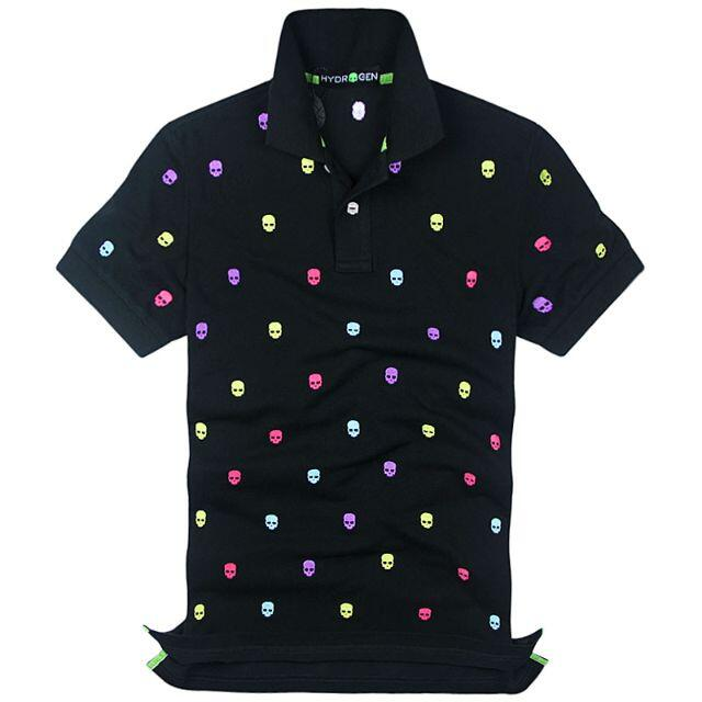 HYDROGEN(ハイドロゲン)の★正規品(21DP7282BLH)ハイドロゲン メンズ半袖ポロシャツ【XL】 メンズのトップス(ポロシャツ)の商品写真