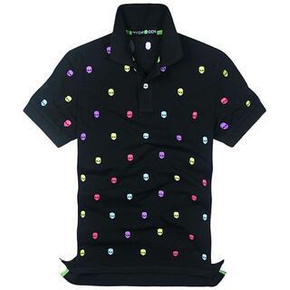 HYDROGEN - ★正規品(21DP7282BLH)ハイドロゲン メンズ半袖ポロシャツ【XL】