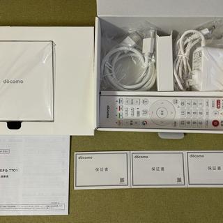 エヌティティドコモ(NTTdocomo)のdocomo select ドコモテレビターミナル android tv(テレビ)