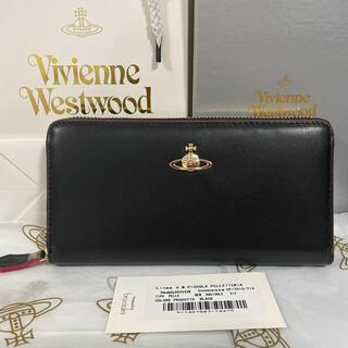 Vivienne Westwood -  ☆新品未使用☆ヴィヴィアンウエストウッド長財布Vivienne ブラック