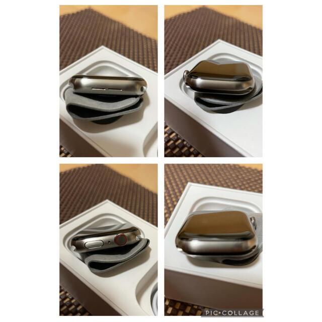 Apple Watch(アップルウォッチ)のApple Watch Edition Series5 44mm チタニウム  メンズの時計(腕時計(デジタル))の商品写真