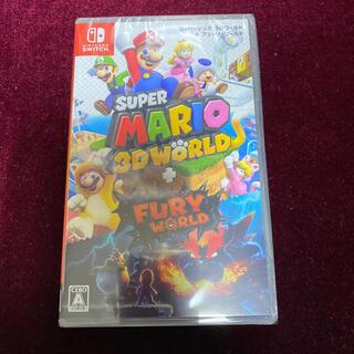 ニンテンドースイッチ(Nintendo Switch)の新品送料込 スーパーマリオ 3Dワールド + フューリーワールド Switch(家庭用ゲームソフト)