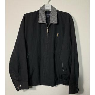 Saint Laurent - 【美品】Yves Saint laurent スイングトップジャケット ブラック