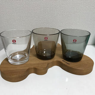 イッタラ(iittala)の新品☆イッタラ カルティオ タンブラー 3点(グラス/カップ)