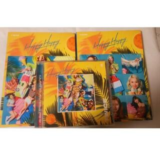 ウェストトゥワイス(Waste(twice))のHappy Happy 初回限定盤A・B・通常版 ファイル付き(K-POP/アジア)