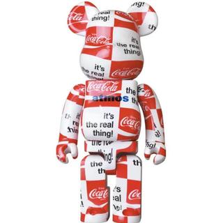 メディコムトイ(MEDICOM TOY)のBE@RBRICK atmos × Coca-Cola CHECKERBOARD(ぬいぐるみ/人形)