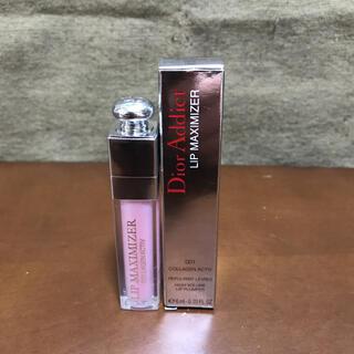 クリスチャンディオール(Christian Dior)のディオール アディクト リップ マキシマイザー 001 ピンク(リップグロス)