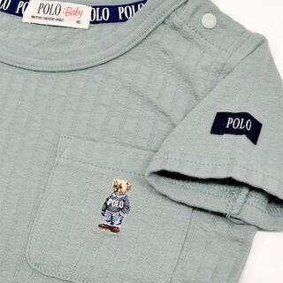 ポロラルフローレン(POLO RALPH LAUREN)のポロベア Tシャツ 80cm モスグリーン トイザらス ベビザラス(Tシャツ)