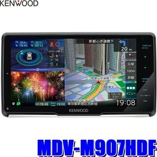 KENWOOD - 【新品未開封】ケンウッド MDV-M907HDF 彩速ナビ 9インチ