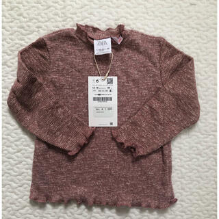 ザラ(ZARA)のZARA baby ソフトメランジ柄Tシャツ 86(Tシャツ)