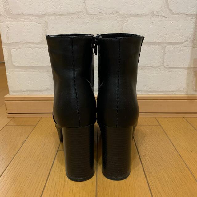 GRL(グレイル)のGRL サイドゴアブーツ ショートブーツ ブラック レディースの靴/シューズ(ブーツ)の商品写真