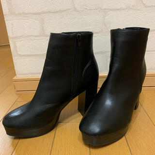 GRL - GRL サイドゴアブーツ ショートブーツ ブラック