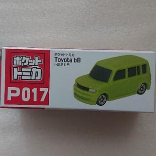 タイトー(TAITO)のポケットトミカ*TOYOTA*bB*P017*グリーン(ミニカー)