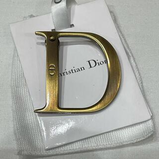 クリスチャンディオール(Christian Dior)の極美品!!【クリスチャンディオール Dロゴ ピンバッチ】(ブローチ/コサージュ)