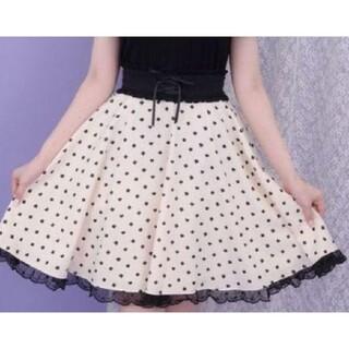 シークレットハニー(Secret Honey)の【Secret Honey】トランプ柄コルセットスカート(ひざ丈スカート)
