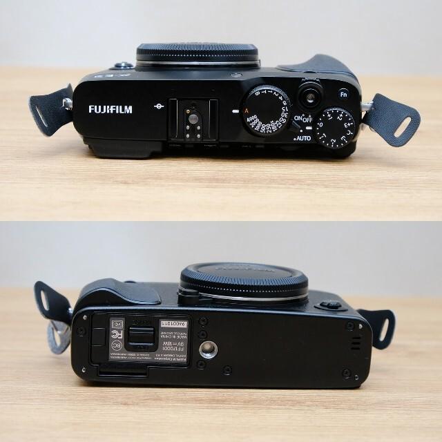 富士フイルム(フジフイルム)の【極美品】FUJI FILM X-E3 ブラック スマホ/家電/カメラのカメラ(ミラーレス一眼)の商品写真