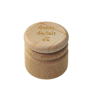Bonpoint - ボンポワン 入手困難品 木製乳歯ケース 新品
