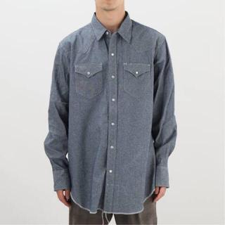 Engineered Garments - 【ENGINEERED GARMENTS 】WESTERN SHIRT