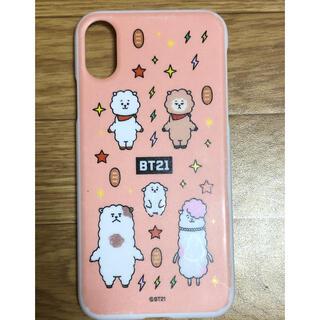 ボウダンショウネンダン(防弾少年団(BTS))のBT21 iphonexケース(RJ)(iPhoneケース)
