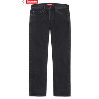 Supreme - Supreme stone washed black slim jean