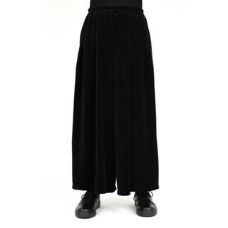 LAD MUSICIAN - LAD MUSICIAN VELOUR CROPPED WIDE PANTS