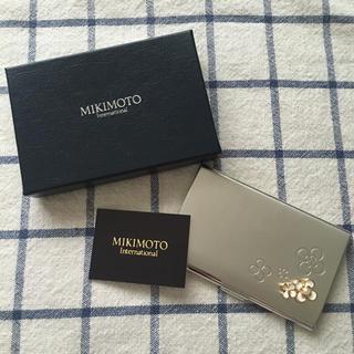 ミキモト(MIKIMOTO)の再開!様専用☆MIKIMOTO♪カードケース(名刺入れ/定期入れ)