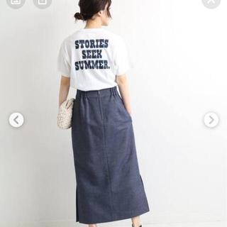 IENA - iena マディソンブルー ポケットTシャツ