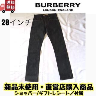 バーバリー(BURBERRY)の【新品 正規品】レディース バーバリー berberry  デニム 28インチ (デニム/ジーンズ)