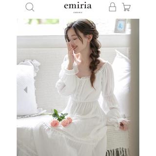 EmiriaWiz - エミリアウィズ /ティアードワンピースルームウェア ホワイト