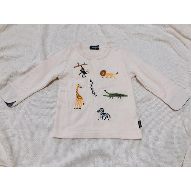 kladskap(クレードスコープ)のグレードスコープ ロングTシャツ ロンT ベビー アニマル トップス  キッズ/ベビー/マタニティのキッズ服女の子用(90cm~)(Tシャツ/カットソー)の商品写真